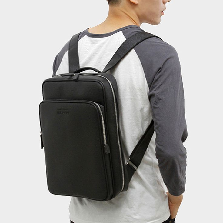 Faux Leather Backpack Business Bag for Men TOPPU 520 (17)