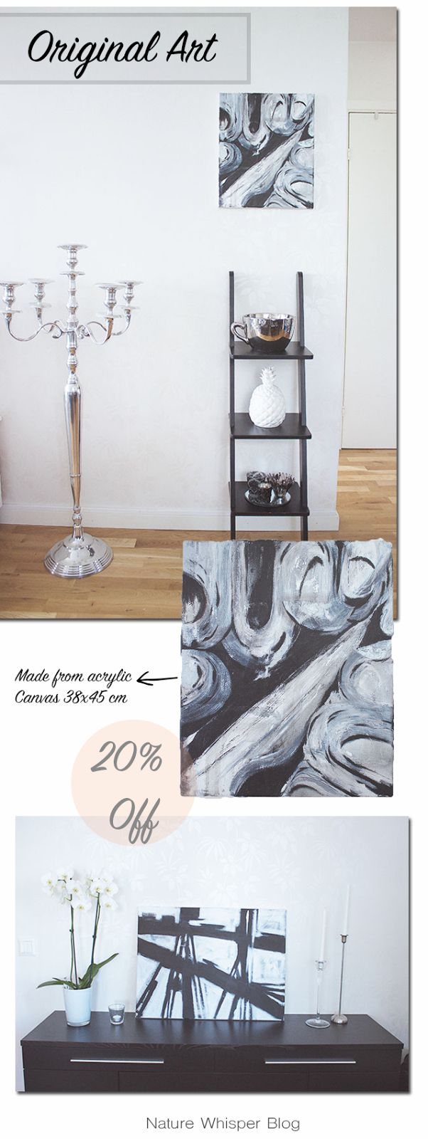 20% Off For The Last Two Original Paintings | NATURE WHISPER