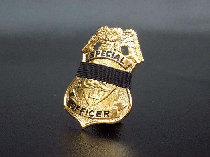 Keepsake Special Police Officer Standing Memorial / Tribute Badge