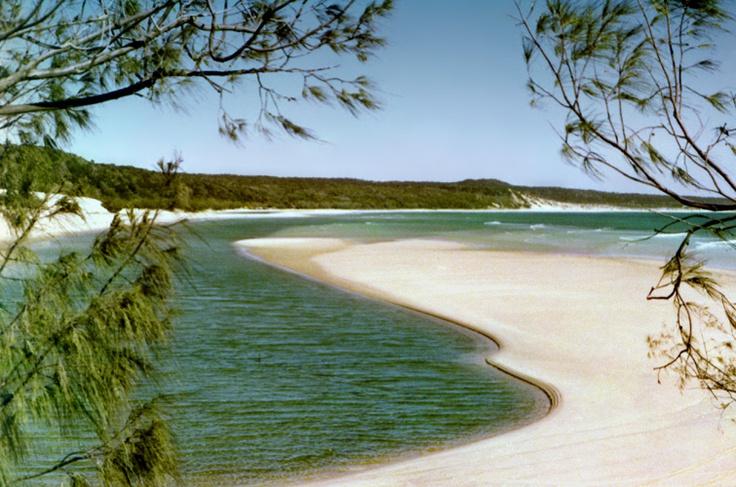Lagoon - Fraser Island