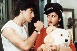 Bhagyashree refuses to talk about her son being launched by Salman Khan