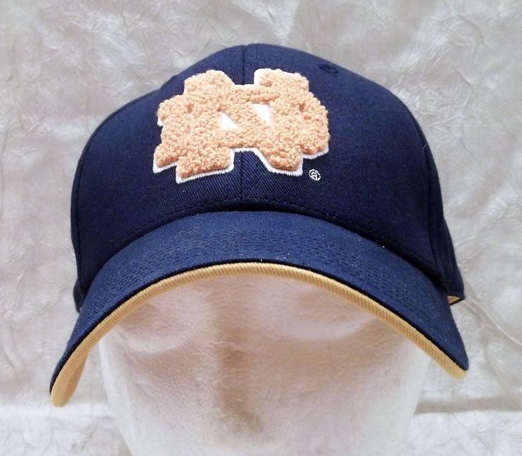 University Of Notre Dame Fighting Irish Hat Adjustable Cap The Game Brand NCAA #TheGame #NotreDameFightingIrish
