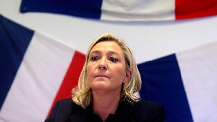 Russia funds French National Front: is Moscow sowing European unrest?  Russia has also reportedly lent money to Greece's neofascist Golden Dawn, Italy's Northern League and other anti-Europe parties. Tue 25 Nov 2014 | Photo: Leader of French far-right Front National (FN) party Marine Le Pen