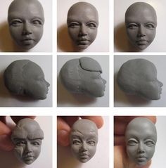 Tuto modelage : Tête humaine