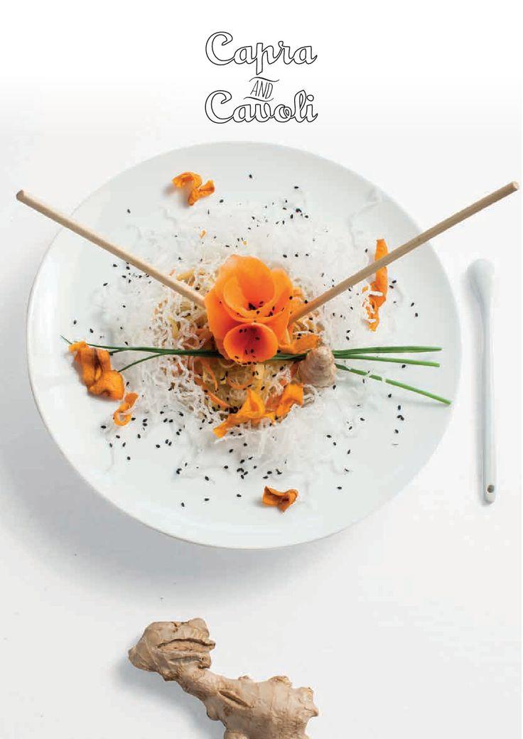 Beati i Primi - Spaghetti di Soia  Via sembrerà di mangiare una nuvola (Chef Barbara Clementina Ferrario)