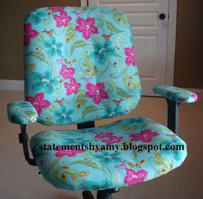 StatementsbyAmy: Office Chair Redo