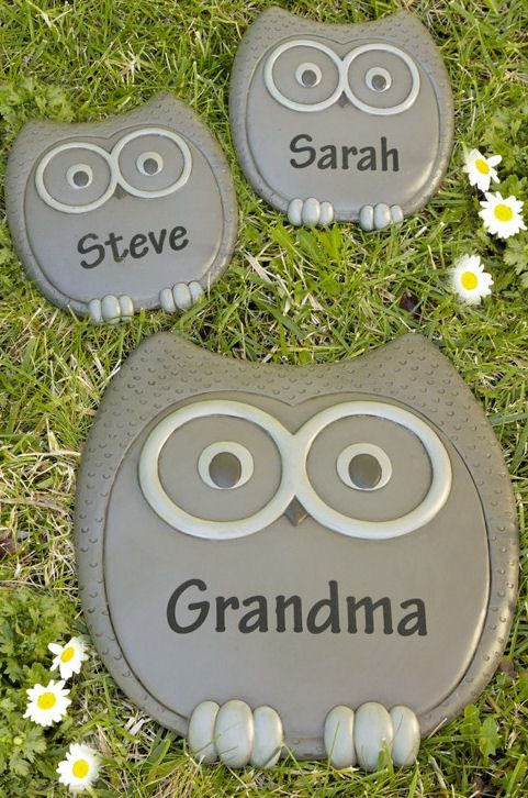 17 best images about stepping stones on pinterest - Personalized garden stepping stones ...