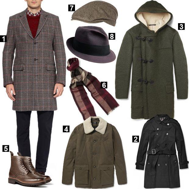 Базовый мужской гардероб осень-зима для отдыха в стиле денди