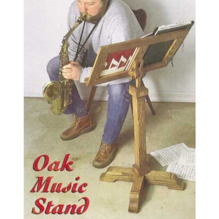 Oak Music Stand Downloadable Plan | Music stand, Woodworking and Woodworking plans