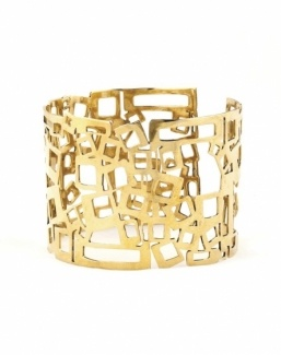 beautiful handmade brass bracelet