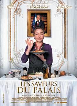 Cuisine et pouvoir, tradition et gourmandise dans les coulisses de l'Elysée, telle est la toile de fonds du film de Christian Vincent Les Saveurs du Palais
