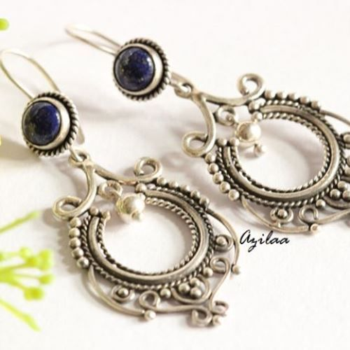 Lapis lazuli earrings Lapis earrings