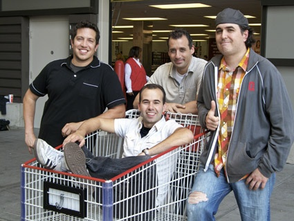 Impractical Jokers. Hands down, funniest show on television.. WATCH IT!