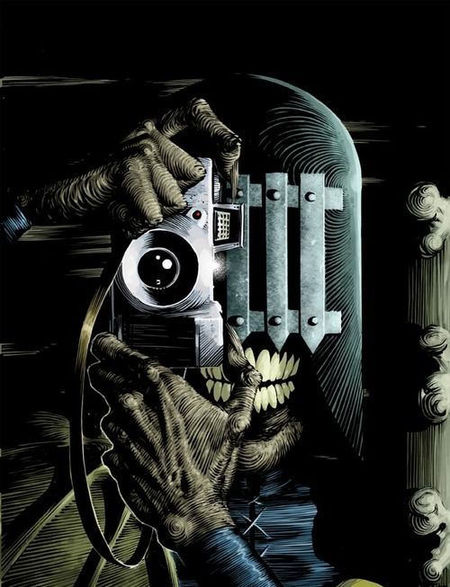 Judge Death by Frazer Irving (after the Killing Joke by Brian Bolland)