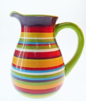 Tienda Palacio - Para tu Casa - jarra ceramica stripes