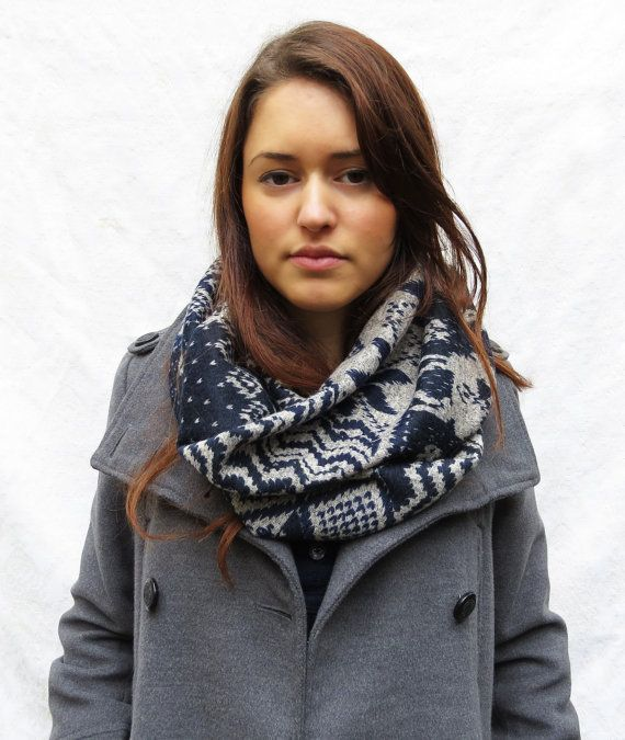 Infinity scarf warm and cozy scarf very soft by Shaniaboutique, $20.00