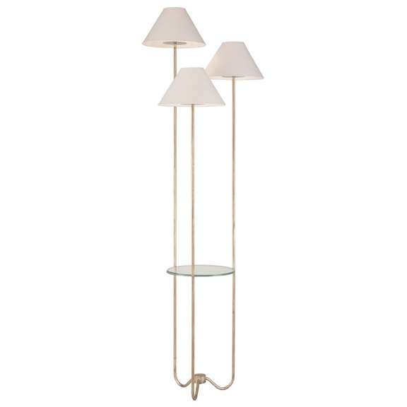 Niermann weeks floor lamp with shelf fun finds for Floor lamp with shelves