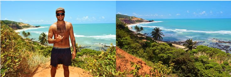 Praia Da Pipa - Brazil's Best Beach - Chasing the sun along the coast of Brazil. Our budget backpacking adventures as a travel couple... Read more  #dont #wait #for #friday #travel #wanderlust #backpacking #budget #couple #blog #travelblog #south #america #brazil #rio #riodejaneiro #fortaleza #floripa #florianopolis #jeri #jericoacoara #beberibe #cq #canoaquebrada #pipa #praiadapipa #natal #maracajau #pantanal #jungle #bonito #snorkelling #beach #best #north #east #coast #bus
