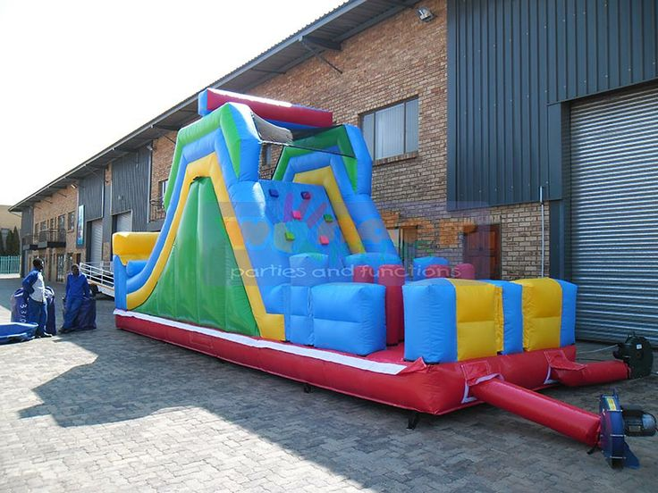 Jumping Castle  http://www.wonder-parties.co.za/