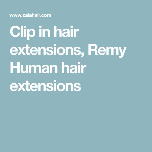 Clip in hair extensions, Remy Human hair extensions