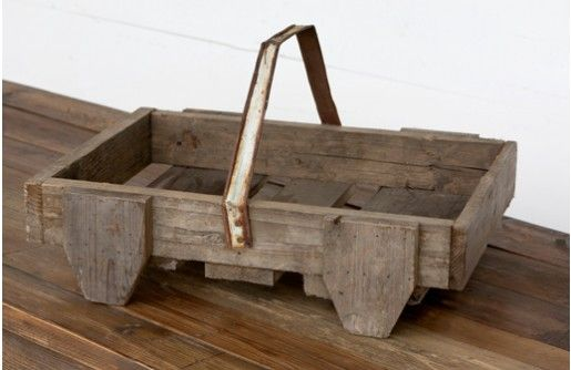 Our fabulous farmhouse basket is an amazingly versatile wooden tray with so much charm! Use this serving tray in any space to organize, serve, and store! For more visit, www.decorsteals.com OR www.facebook.com/decorsteals.