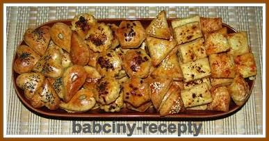 Slané pečivo | Babčiny recepty