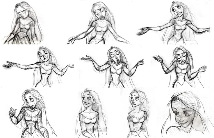 Cartoon Concept Design: TANGLED: sketches and characters Part 6