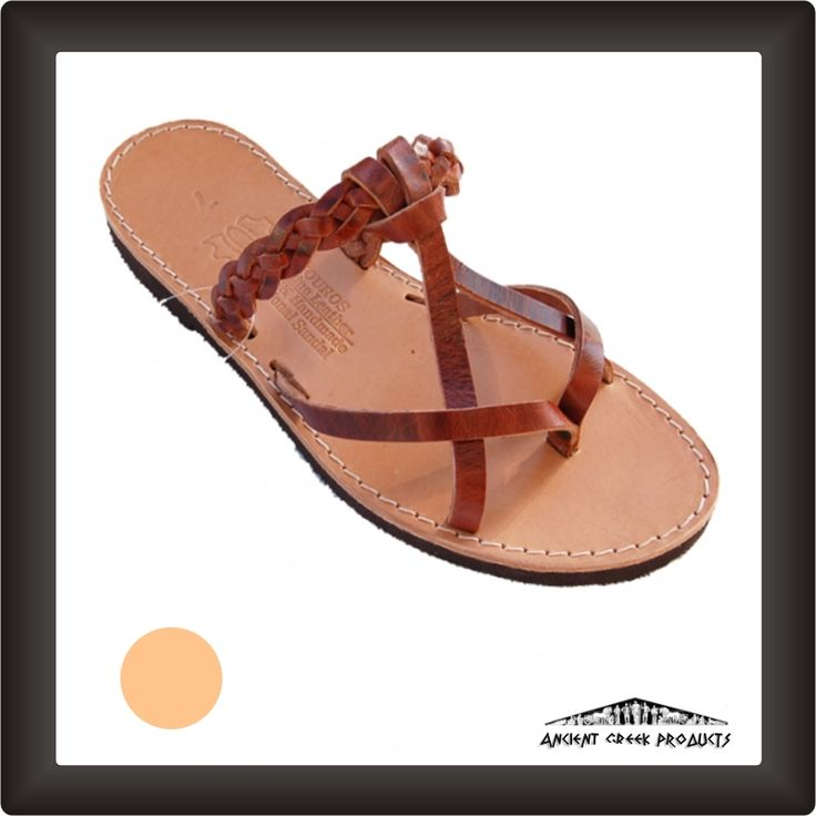 Women's Handmade Classic leather sandals .
