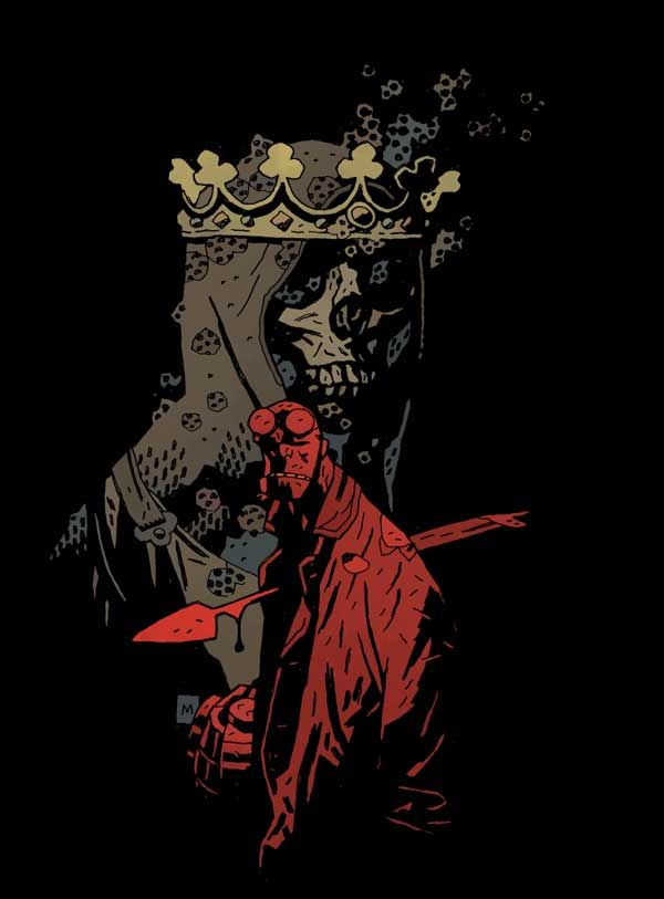 The Sword in the Stone Hand: The Arthurian Trends in Hellboy