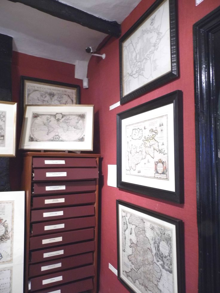 A few more maps that are on display