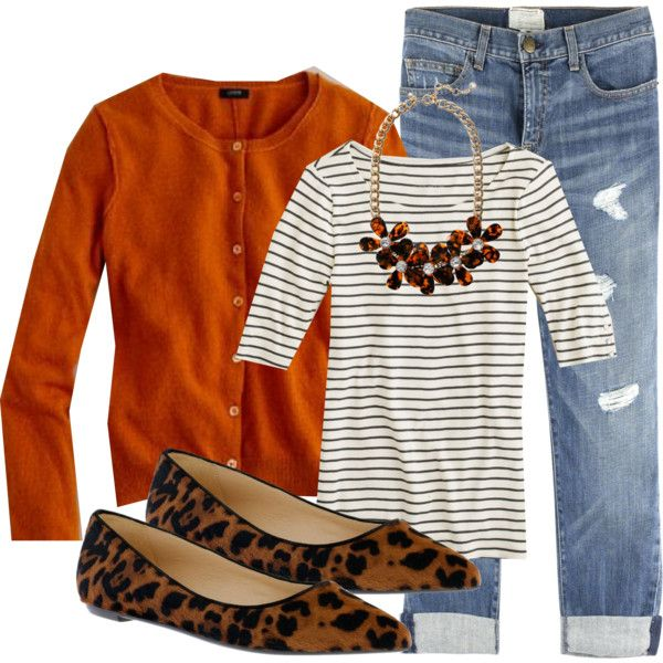A fashion look from November 2013 featuring J.Crew cardigans, J.Crew t-shirts and Current/Elliott jeans. Browse and shop related looks.