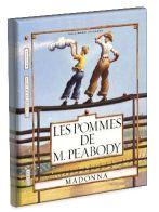 Les pommes de M. Peabody par Madonna. Dans la ville d'Happville, un garçon accuse injustement son professeur M. Peabody de voler des pommes à l'étalage de l'épicier. Le professeur punit le garçon en lui faisant répandre les plumes d'un oreiller sur un champ de base-ball, tout comme il a répandu la mauvaise rumeur. Chaque plume représente un citoyen d'Happville. C'est en essayant de récupérer les plumes une à une que le garçon comprend comment il est difficile de rattraper sa médisance.