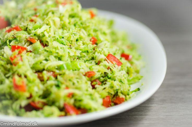 Broccoliris - lækkert LCHF tilbehør :http://mindfulmad.dk/lchf-tilbehor-broccoliris/