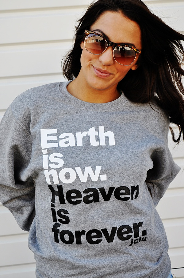 I want this!: Forever Christian, Fashion, Jclu Forever, Styles, Christian Tshirt, Christian Clothing, 080 Heavenisforeversweat, Christian T Shirts, Heavens