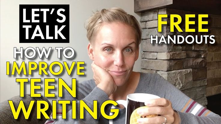 How to improve teen writing with FREE brainstorming organizers