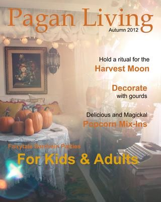 Pagan Living - Autumn 2012 - In a really neat E-reader format