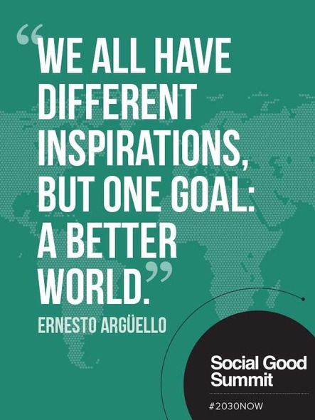 More quotes from The Social Good Summit 2013 #2030NOW