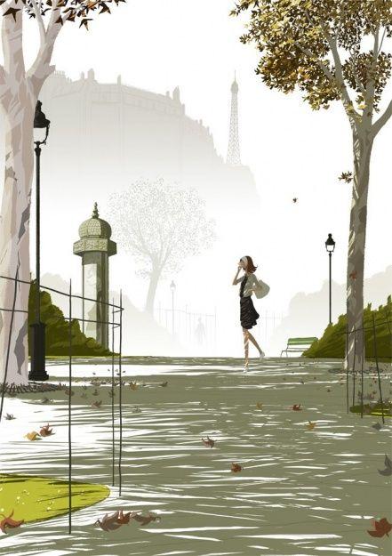 Le parc / Matthieu Forichon