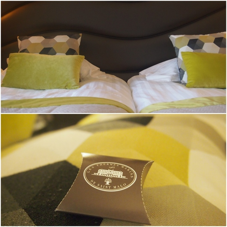 Hotel Thermes st malo chambre transat Emeraude