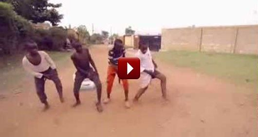 You Think You Can Dance? Think Again! These African Kids Are Killing It.  No matter what you're going through, happiness is a choice and these African kids from Uganda are showing us just that.  This cheered me up and now I can see where twerking originated from. These kids must definitely go to a talent show.