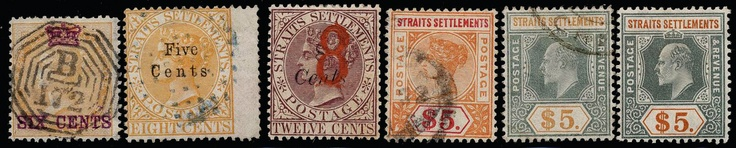 Malaya Straits Settlements, **/*/used collection 1867-1953 in album. Well filled collection including many better stamps and sets. Old catalogue valuation by vendor over £ 7000. Seldom offered material in quite good condition. Please see scans on our website of the full collection. (300)    Dealer  AB Philea    Auction  Minimum Bid:  13000.00 SEK  (app. 1494 EUR)