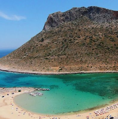 4 Beautiful Beaches on Crete, Greece: Starvos Beach