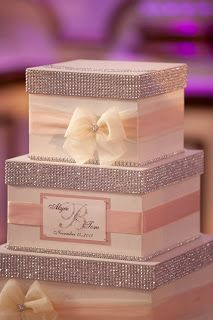 My wedding card box was ordered from Etsy (Seller:Diamond Decor) See My Blog Post for more deets to come
