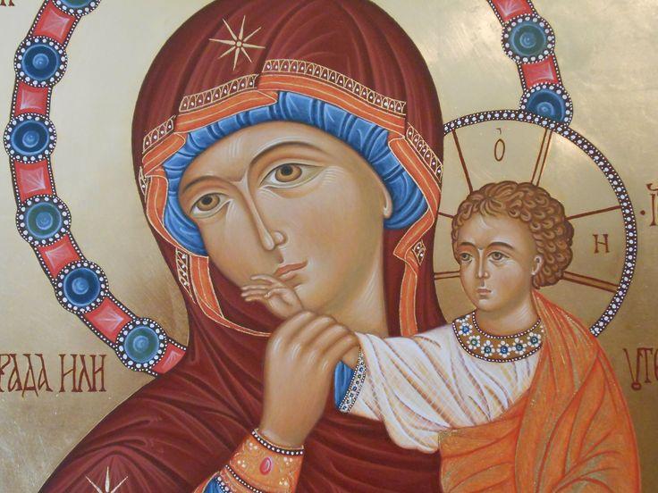 Madre della Gioia o Consolazione through the hand of Maria Teresa Battilana