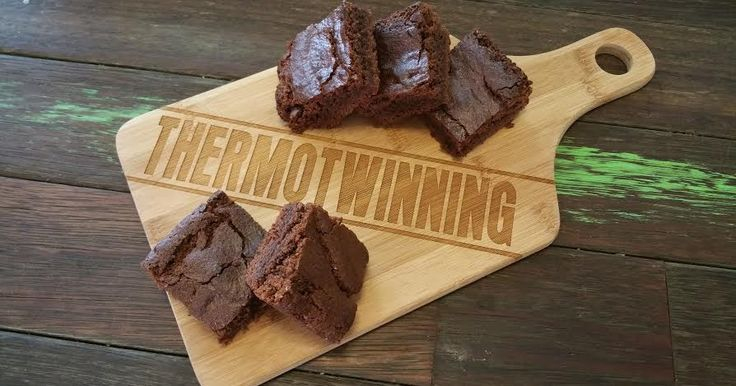 Thermotwinning: 20 Second Milo Brownies