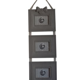 Set 3 rame foto verticale pentru perete