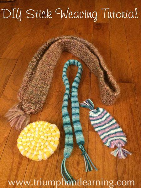 184 best fiber crafts for kids images on pinterest for Easy native american crafts