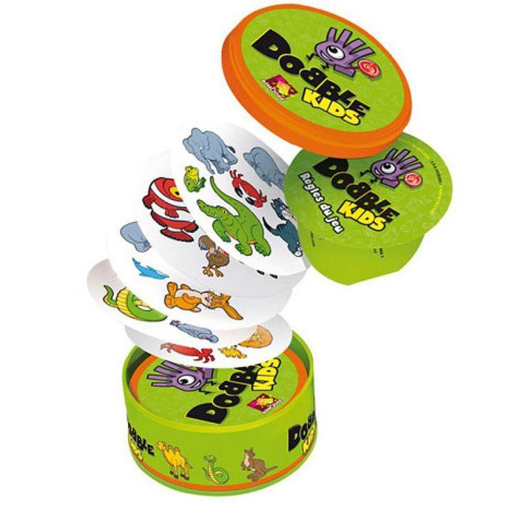 Dobble Kids - Juego De Cartas De Atención Asmodee Editions AMD-DOKI01ES…