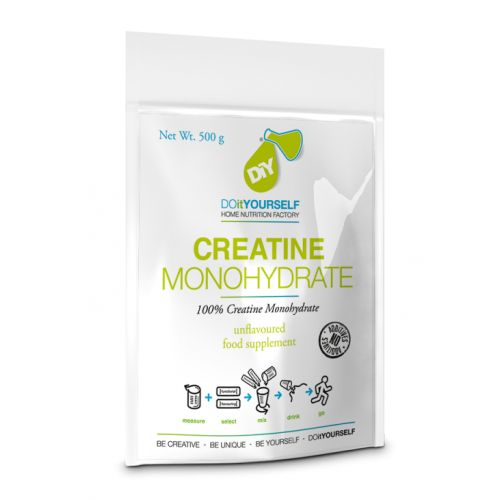Creatine Monohydrate Micronized 100% 500 gr DO it YOURSELF