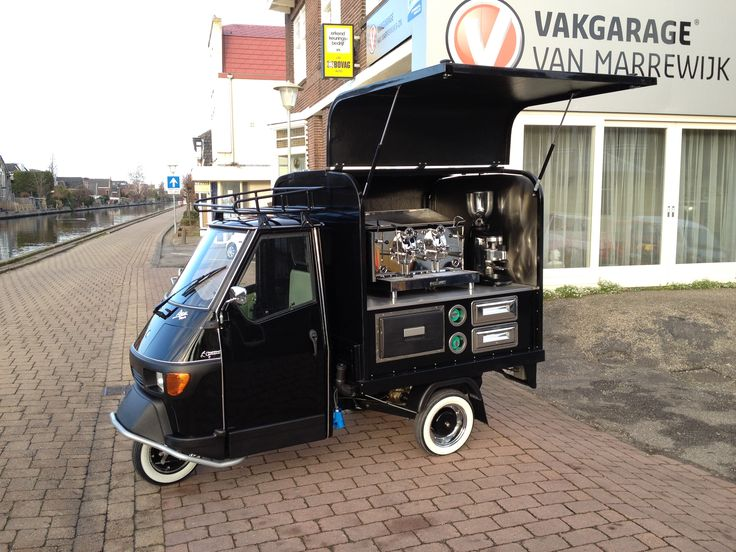 Piaggio Ape with coffee unit